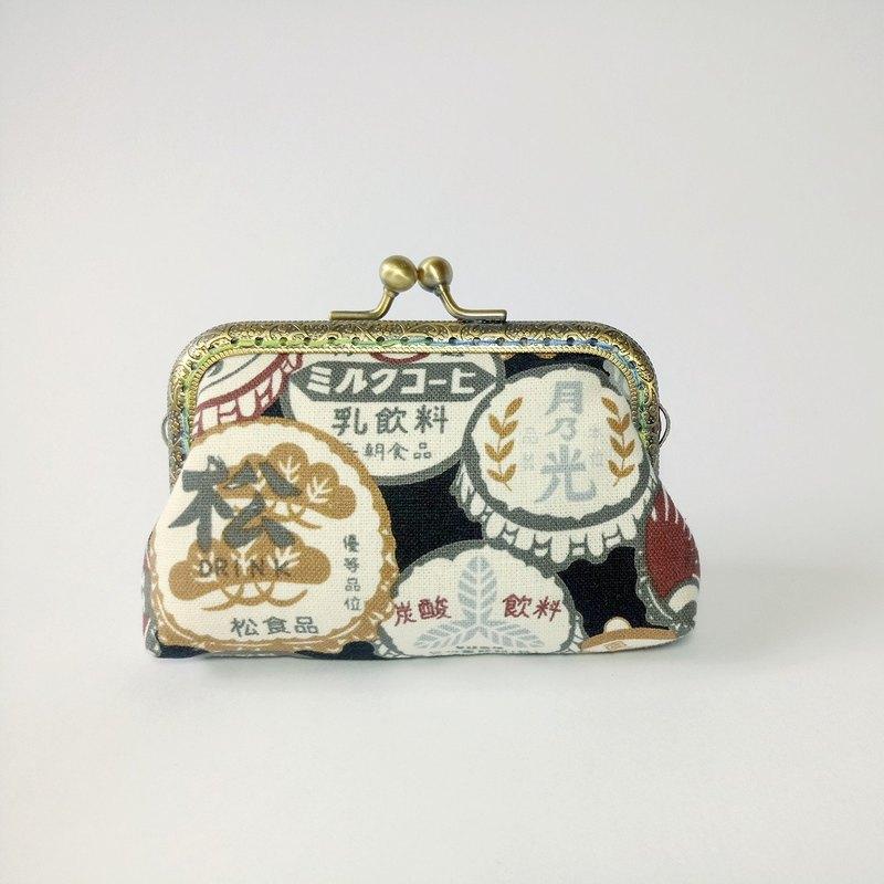 【復古瓶蓋】口金包 零錢包 手拿包 聖誕交換禮物