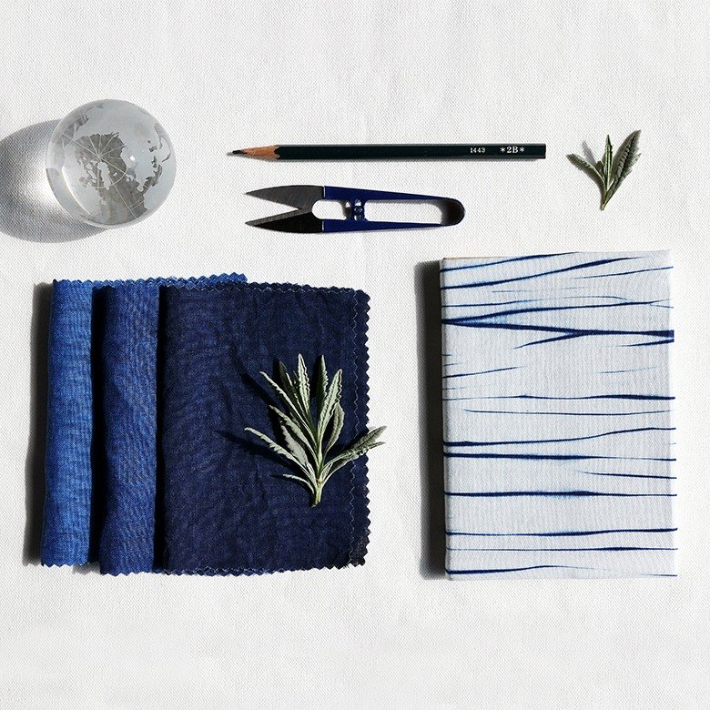 卓也藍染-藍紮染筆記本
