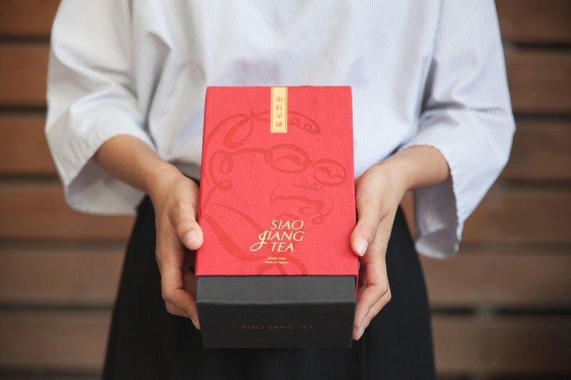 【小蔣茶鋪】霞色甘潤小葉紅–80g 禮盒裝