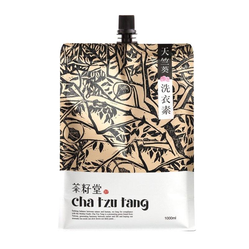 茶籽堂 花梨木/天竺葵洗衣素補充包 1L