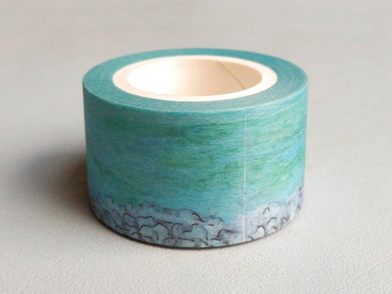 Liuyingchieh Lake Tekapo 和紙膠帶 Washi Masking Tape 25 mm