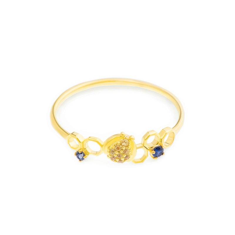 【brilliantia】10K藍蜜蜂系列-戒指A-(RT0127 )