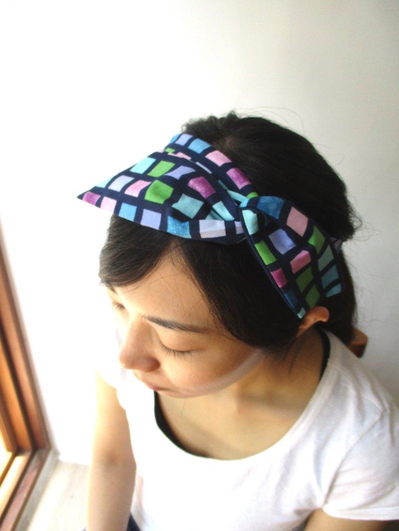 轉轉髮帶(手工)-領結耳-渲染格