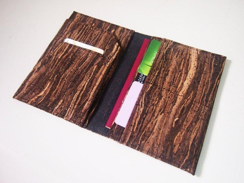 Paralife 量身訂造 屬於自己的木紋軟木 多間格  護照夾/護照套/護照本 Passport Cover 卡套夾