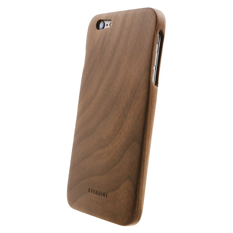 OVERDIGI Mori iPhone6(S) plus 全天然木料保護殼 胡桃木
