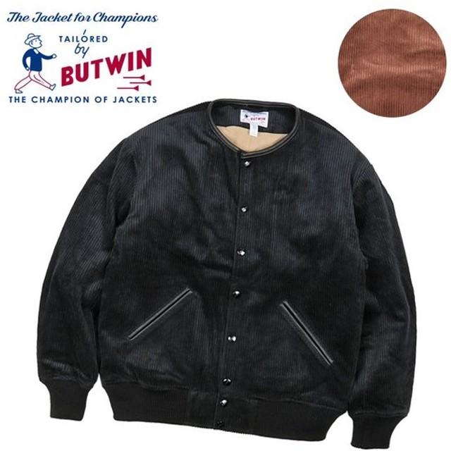 BUTWIN バトウィン CORDUROY NO COLLAR JACKET コーデュロイノーカラージャケット BTW-000-193008 【アウター/上着/アウトドア/おしゃれ】