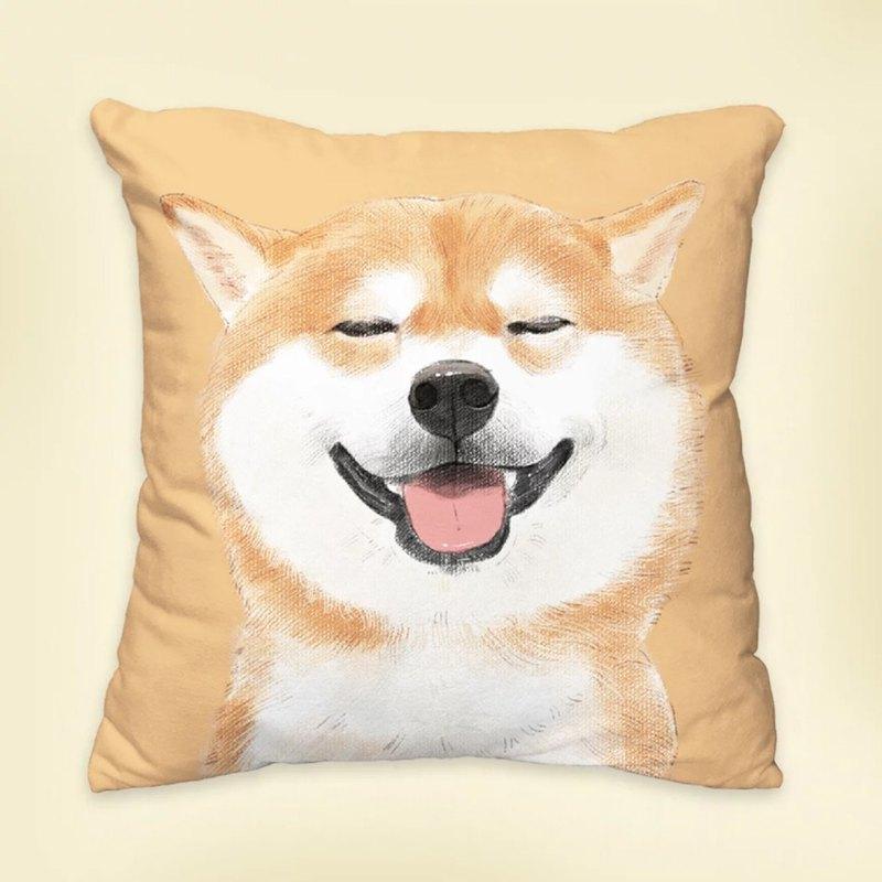 【我會永遠愛你】經典款柴柴 狗狗動物抱枕/枕頭/靠墊