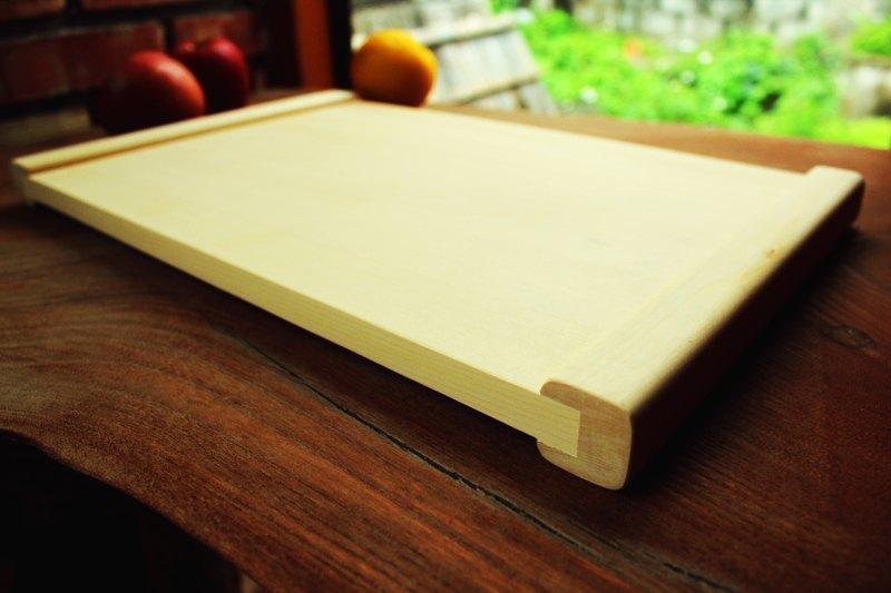 【阿拉斯加扁柏】厚邊雙面砧板餐板