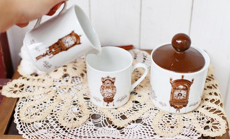 【好日戀物】荷蘭vintage 陶瓷奶壺/糖罐 (一組)