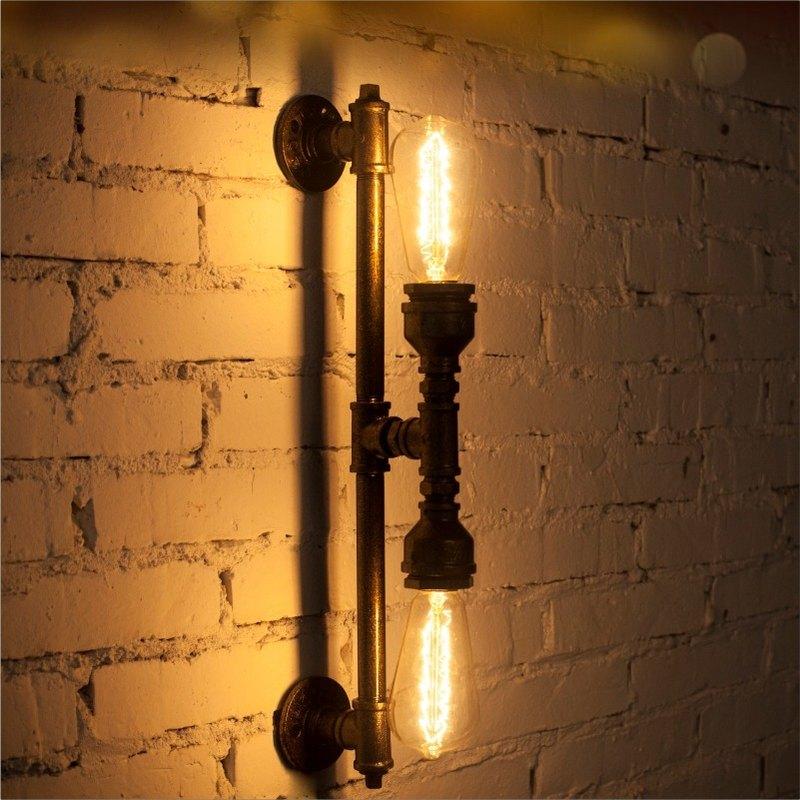 工業風復古水管壁燈創意裝飾壁燈