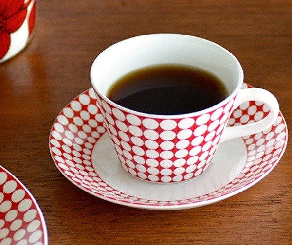 Stig Lindberg北歐設計大師 EVA咖啡杯盤組(骨瓷)