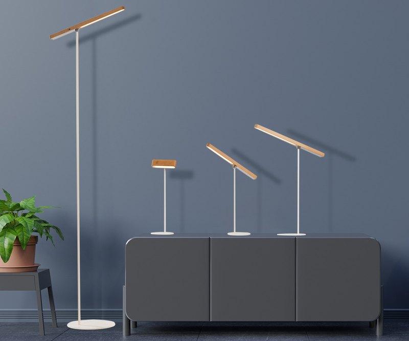 家用臺燈簡約北歐書桌學習閱讀護眼燈ins床頭燈  充電可移動
