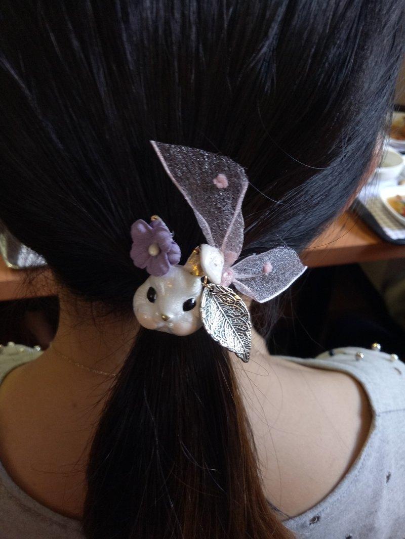【小兔子的華麗異想】手作髮圈 髮飾