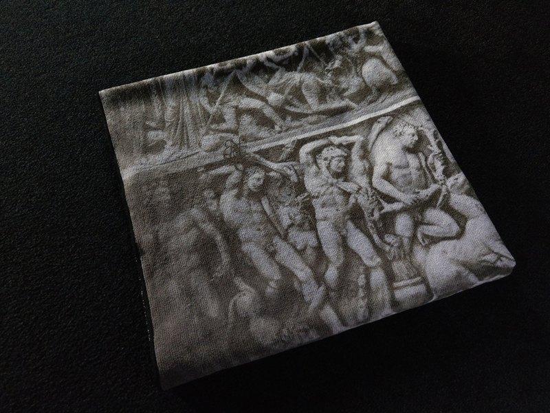 BC200 希臘浮雕 海灘巾