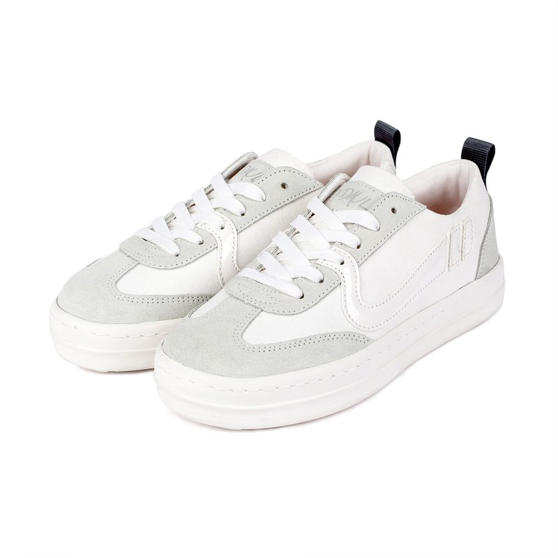 Jdaul SUPERB CONNIE PLAIN 韓國人手製皮革鞋CANVAS WHITE