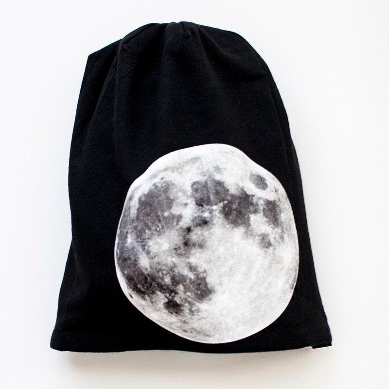 超級月亮 手作雙面有機棉帽(設計師限定版)