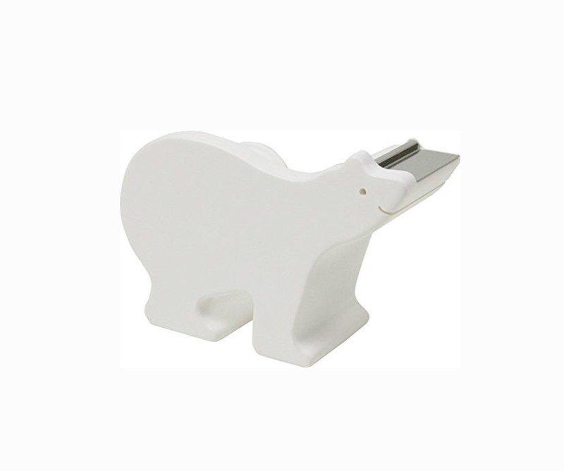 日本Magnets動物系列桌上動物園系列小紙膠帶台(北極熊)現貨