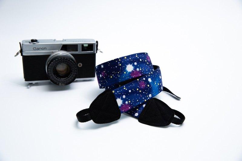 (宇宙星空)  雙背帶孔相機/相機背帶/相機繩/拍照/相機