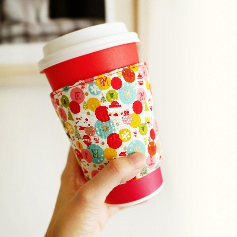 聖誕節限定款 / 手工環保咖啡杯套 / Christmas系列