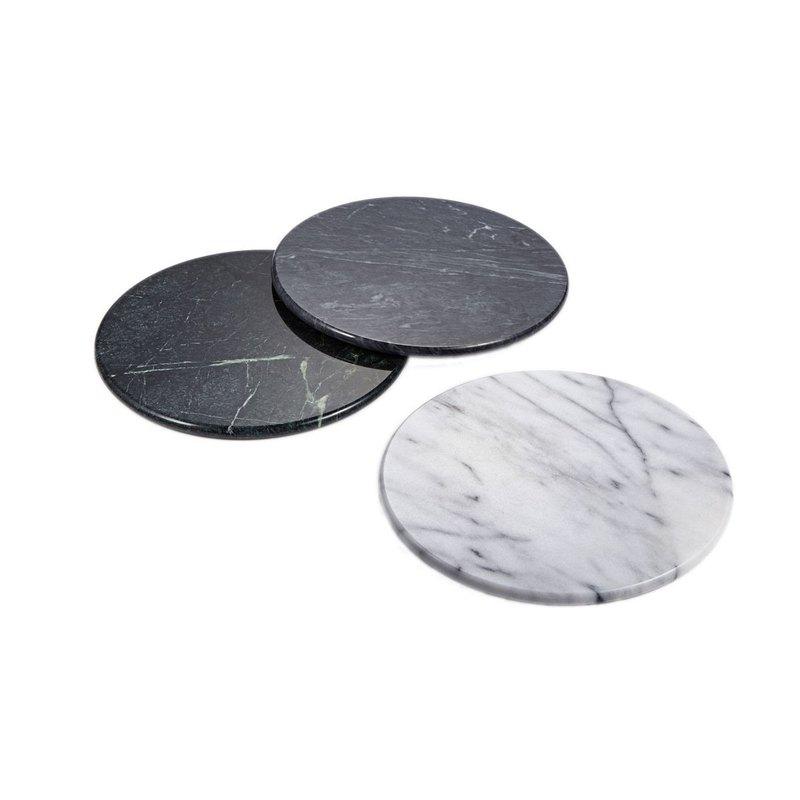 大理石烤盤熱墊20cm/25cm (白色、黑色、綠色) 餐墊/湯墊