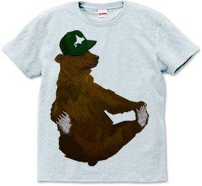 北海道和棕熊(T卹6.2盎司)