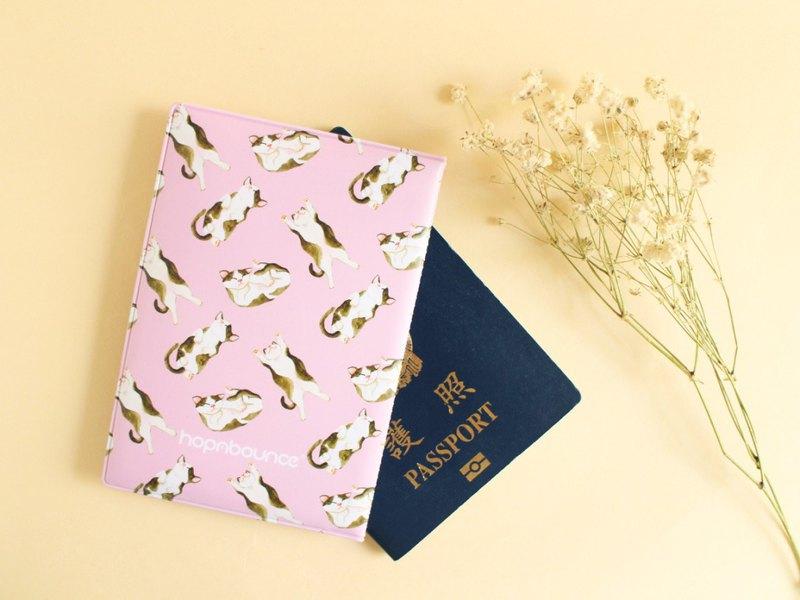 貓咪 小貓 護照夾 護照套