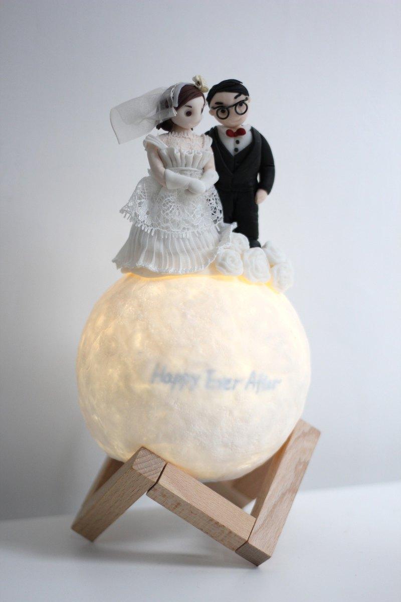 客製人像藍牙音響星球物語燈,一份永久的結婚禮物,給你最關心的人