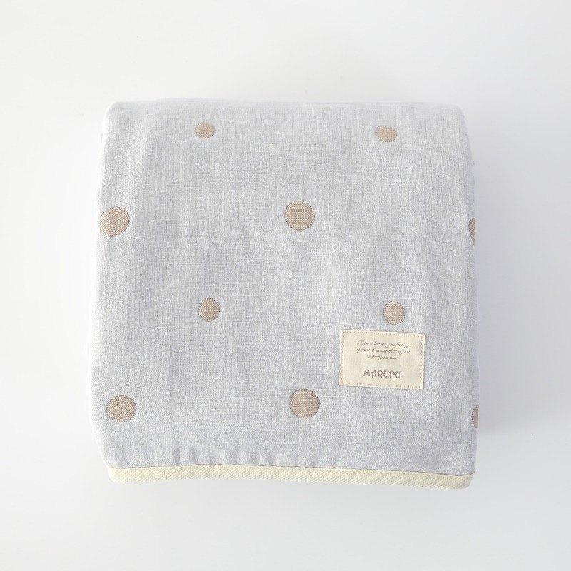 日本製五層紗被  嬰兒藍(S/M/L)