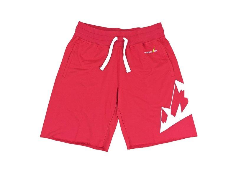 tools原創棉質休閒短褲 #紅色 ::有型 ::棉褲  不收邊 160505-24