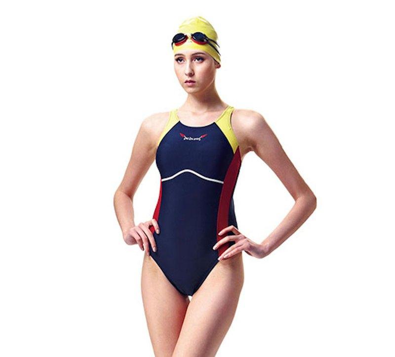 MIT 競賽型泳裝-高叉