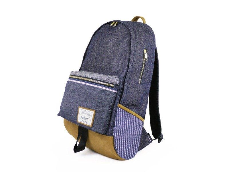包身版型上半部前傾的設計,加上底部弧度的版型讓包款背起來外型不易塌陷,且更加符合每個使用者的身型