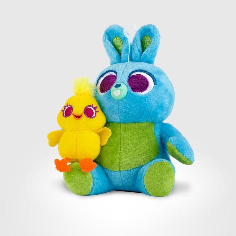 InfoThink 玩具總動員系列 絨毛藍牙喇叭 鴨霸與兔崽子