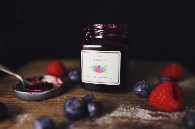 【Topo 人氣熱銷】手作鄉村莓果果醬