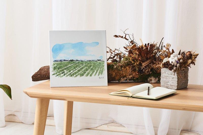 白河風景 - 鋁合金裝飾板 Decor Board AL6061