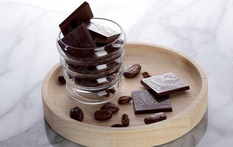 85%經典巧克力薄片 【黑方巧克力】