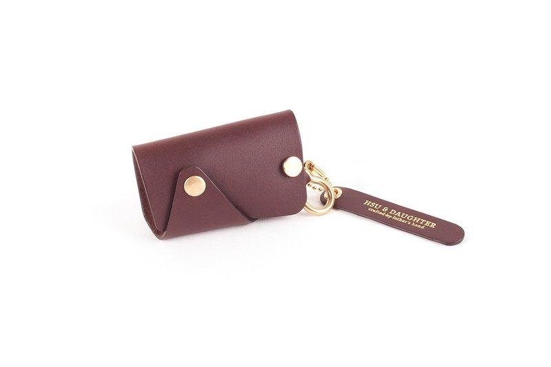 【手作課程 - 馬蹄環單釦鑰匙包】鑰匙包 | 客製 | 禮物 | 新年