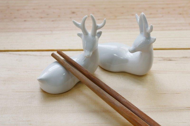 臺灣梅花鹿 臺灣特有種 山中精靈系列 造形 筷架