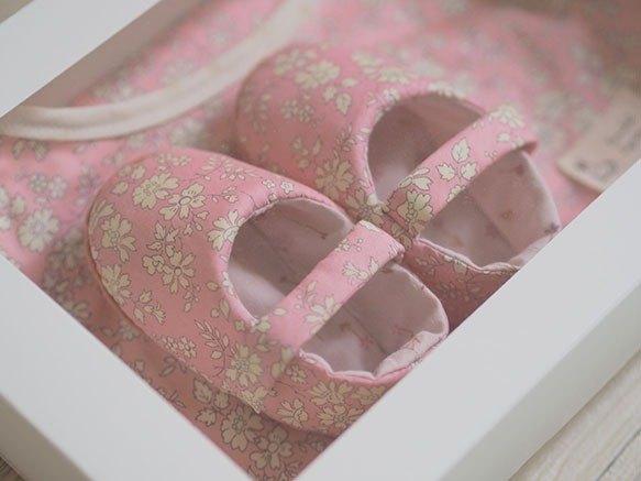 粉紅碎花 · 彌月禮盒三件組