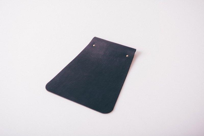 PLEASANT 梯形皮革滑鼠墊 Leather Mouse Pad -黑、棕兩色