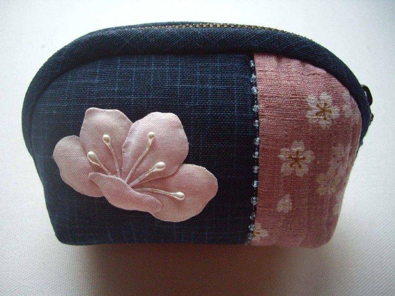 桐花包(藍色)