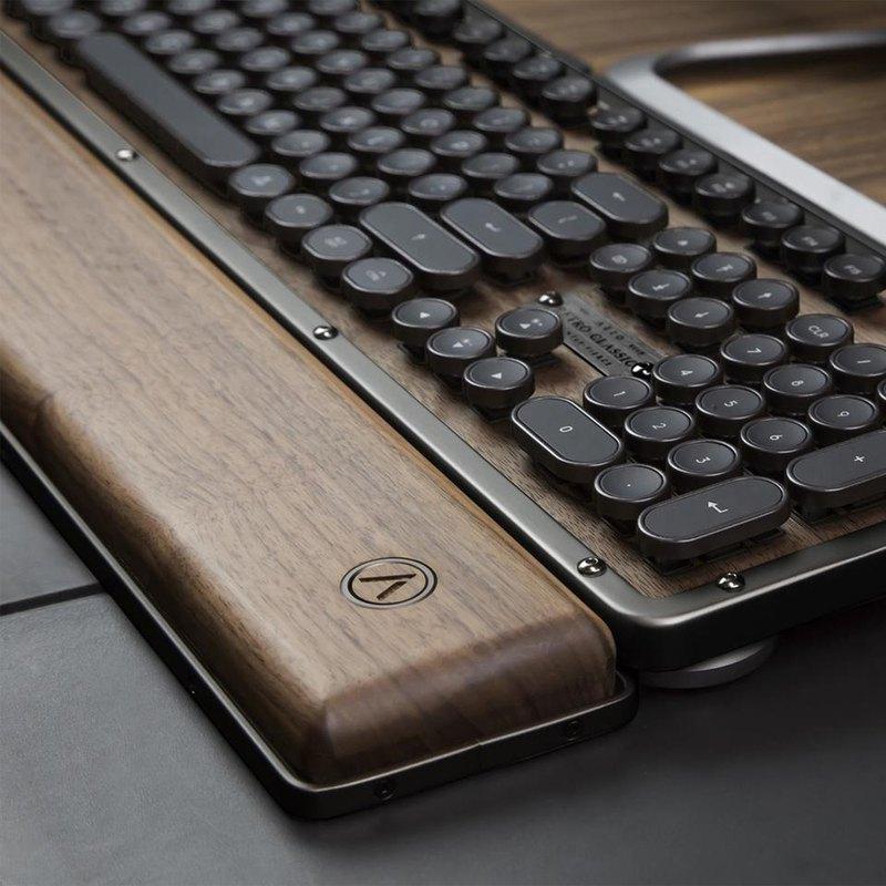 AZIO RETRO CLASSIC ELWOOD 核桃木復古鍵盤手托