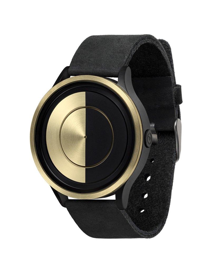 月系列腕錶 LUNAR Gold (黑/金 , Black / Gold) *Mesh Strap