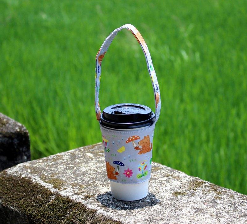 飲料杯提袋-香菇