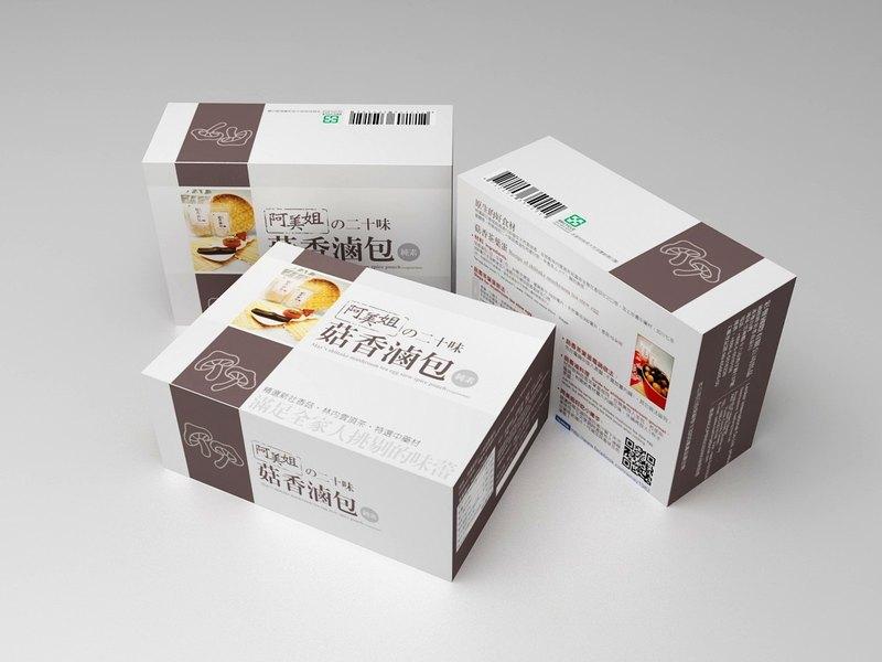 阿美姐的二十味菇香滷包30G*2入/盒-通過安全檢驗