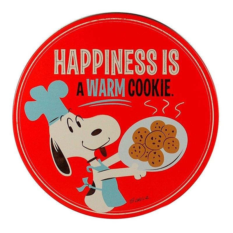 Snoopy錫材收納盒手工餅乾-空盒【Hallmark-Peanuts史努比 收納】