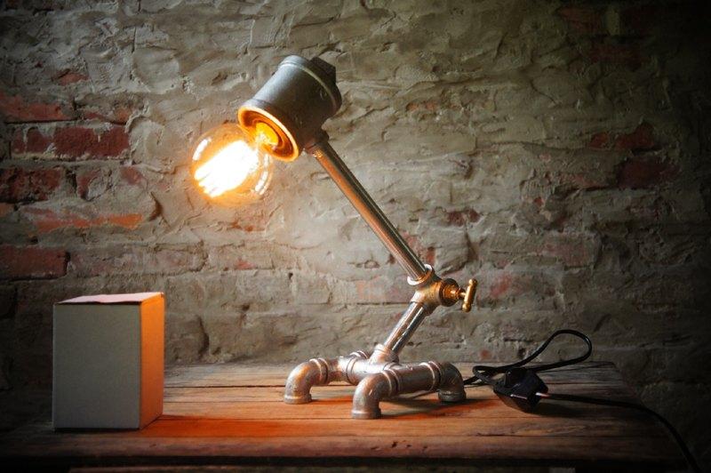 Edison-industry  復古  工業風  LOFT    水管燈具-愛迪生工業 設計款5
