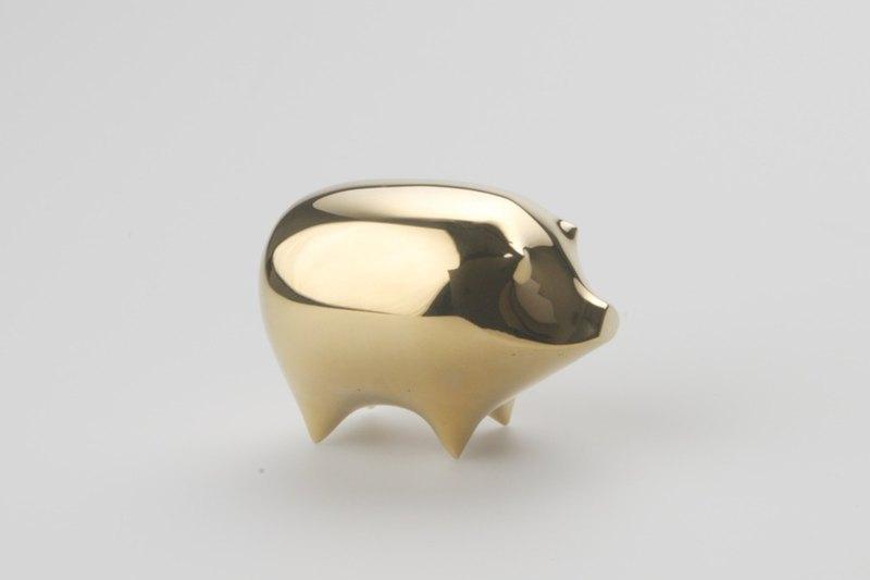 銅心未泯動物擺飾 - 豬