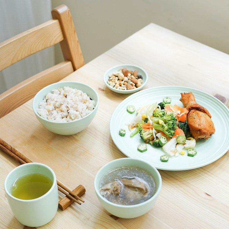 【福袋】天然瓷土美器-湖水綠│瓷盤 碗 醬料碟 茶杯 湯碗