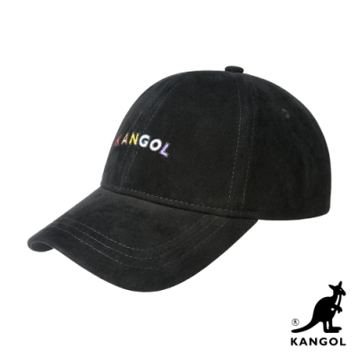 KANGOL-KANGOL彩色字棒球帽-黑色