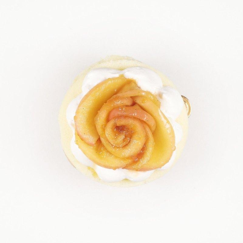 <巧思嗑系列>焦糖蘋果香草 3.5吋蛋糕